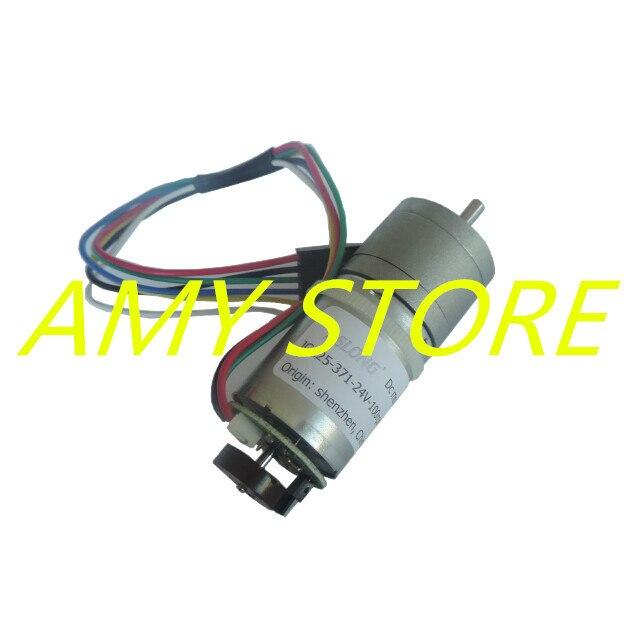6-24V 12VDC 977/463/201/126/95/55/41/25/19/11/8.6RPM Electric Permanent Magnet Geared Motor JGA25-371 SpeedEncoder Coding Device6-24V 12VDC 977/463/201/126/95/55/41/25/19/11/8.6RPM Electric Permanent Magnet Geared Motor JGA25-371 SpeedEncoder Coding Device