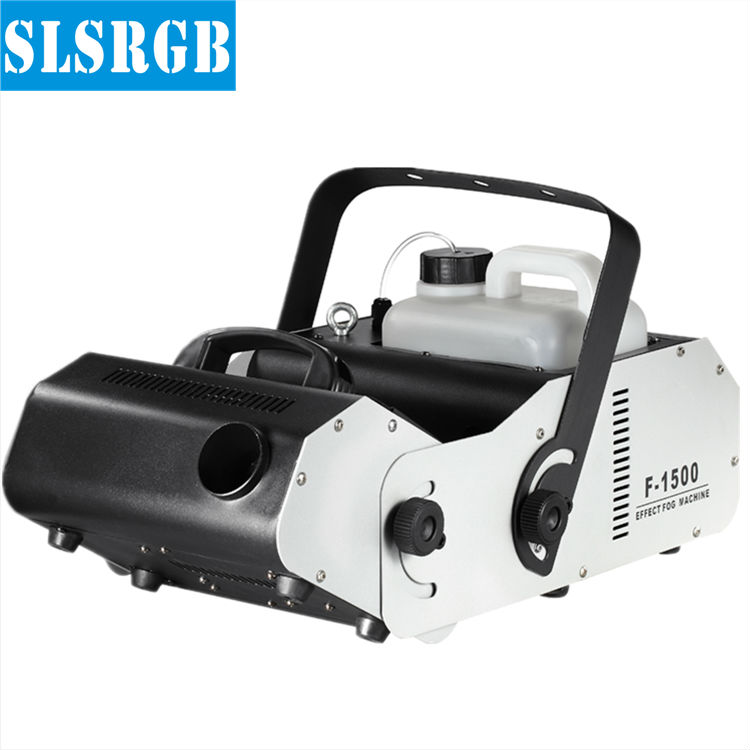 SLSLITE 1500w Multi Angle Fog Machine Led Fogger Smoke Machine Stage Haze Machine