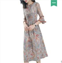 spring/summer silk outfit long