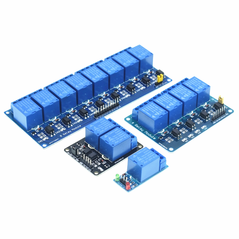 Relay 5V 1 2 4 8 Channel 5V Relay Module with Optocoupler Low Level Trigger Expansion Board Relay for Arduino