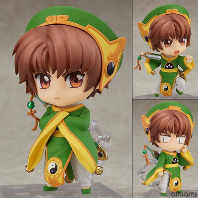NEW hot 10cm CARD CAPTOR SAKURA TSUBASA LI SYAORAN Action figure collection toys doll Christmas gift with box new hot 14cm pikachu gary oak okido green eevee action figure toys collection christmas gift doll with box