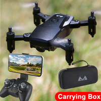FPV Mini Drone with Camera HD 720P 2MP WIFI Pocket Quadcopter Headless Mode Hovering Racing Remote Control Helicopter Aircraft
