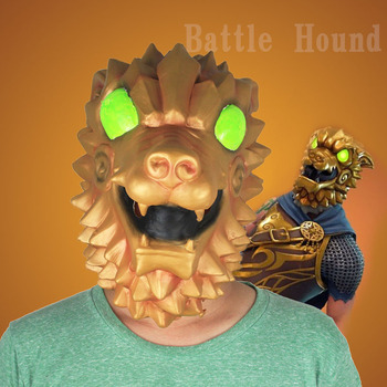 Battle Royale Dragon Head Mask Action Figure Dress Up Props Halloween Party Cosplay Christmas Adult