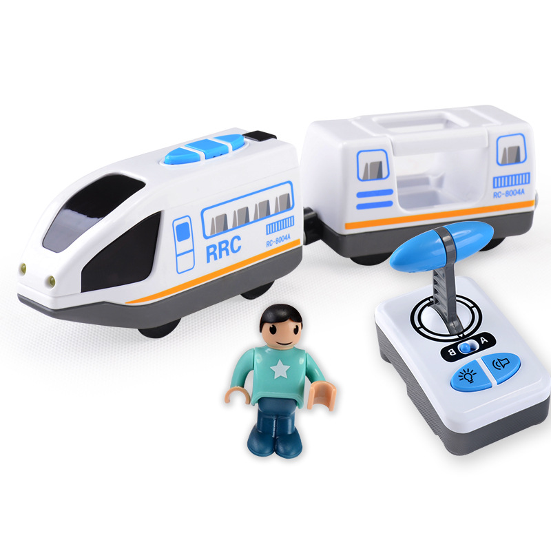 FARFEJI Electric Rc Train toy Car Trains Remote Control Train Toys Electric Remote Control Train Toys Car Children Toy ...