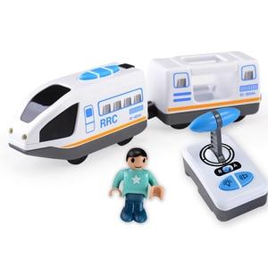 FARFEJI Electric Rc Train toy