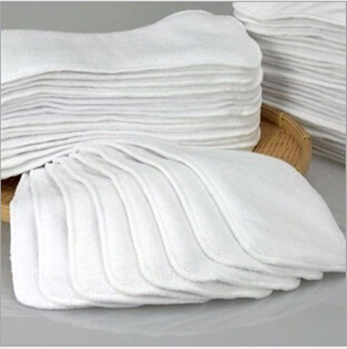 Продвижение детские микрофибры 3 слоя микрофибры Детские полотняные подгузники для пеленок вставки 10 шт./лот