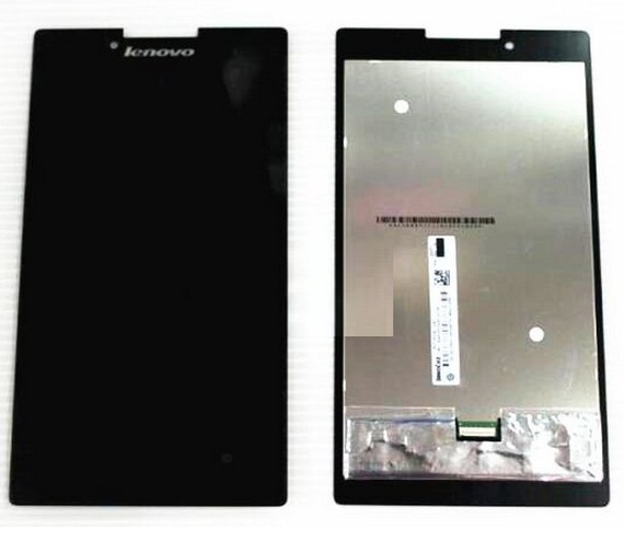 Original Full LCD Display + Touch Screen Digitizer Glass Assembly For Lenovo Tab 2 A7-30 A7-30DC , Free Shipping 100% original for lenovo s850e s850 lcd screen display with touch screen digitizer assembly black or white free shipping