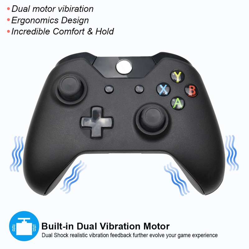 Image 4 - For Xbox one Bluetooth Wireless Controller For Xbox One Slim Console For Windows PC Black/White Joystick-in Gamepads from Consumer Electronics