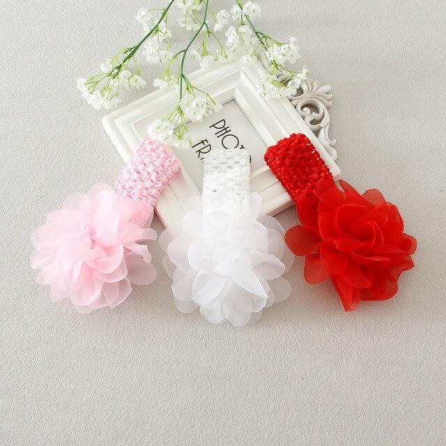 93412c91e3c18 DMfgd Brand Flower Cute Children Flower Hair Clip Head Wear Children Girls  Party Hair Accessories