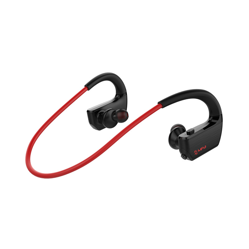NEW 8GB Mp3 Player Bluetooth 4.2 Earphone Wireless Sport Running Stereo Bluetooth Headset for Phone MP3 + Bluetooth Play Mode