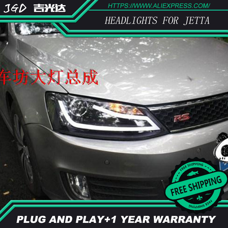 Auto Part Style LED Head Lamp for VW Volkswagen Jetta 2012 2013 led headlights drl hid Bi-Xenon Lens low beam auto clud style led head lamp for benz w163 ml320 ml280 ml350 ml430 led headlights signal led drl hid bi xenon lens low beam
