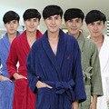 AZO Libre felpa vestido de la noche ropa de dormir albornoz de los hombres de la venta caliente