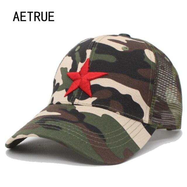 AETRUE Summer Children Hat Cotton Baseball Cap Kids Bone Boys Girls Mesh Snapback Caps Casquette Gorras Camouflage Sun Hats Cap