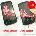 100% Оригинальный ЖК-Дисплей + Сенсорный Экран + Рамка Полный Ассамблея Дигитайзер Для HTC Sensation и Sensation XE g14 g18 z710e z715e