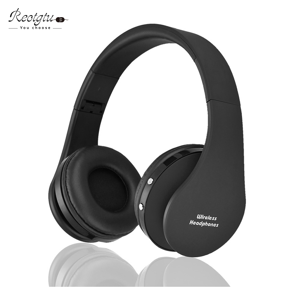 Handsfree Bluetooth Headset Wireless Headphones Stereo Foldable Sport Earphone Microphone headset bluetooth earphone headphones blutooth 4 1 wireless foldable sport earphone microphone headset with tf card slot mp3 player music earphone earpiece