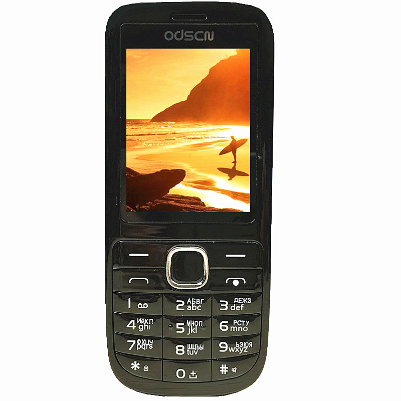 2.3 double Sim FM radio bluetooth haut-parleur mobile téléphone pas cher chine gsm Téléphones Cellulaires Russe Clavier bouton ODSCN C3