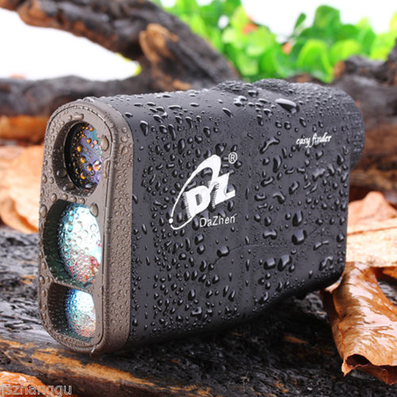 1000m Hunting Laser Rangefinder Waterproof Golf Range Finder Speed Distance Meter with Battery