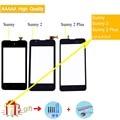 Для Wiko Sunny 1/Sunny 2/Sunny 2 Plus сенсорный экран Сенсорная панель дигитайзер Переднее внешнее стекло сенсорный экран Sunny2 Sunny2 Plus - фото