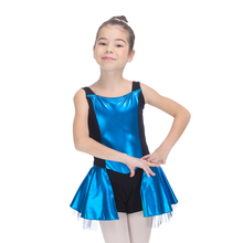 Retail River Blue and More Colors Metallic Tank Leotard Tutus for Ladies and Girls