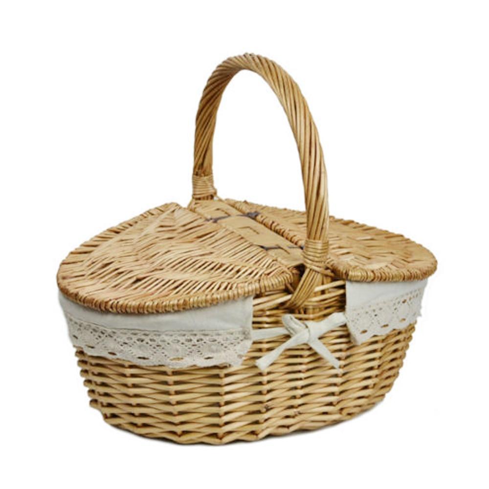 Buy willow wicker basket camping picnic - Cestas de mimbre ikea ...