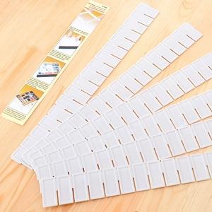 6pcs/set Adjustable Drawer Clapboard Partition Divider Cabinet DIY Grid Storage Organizer