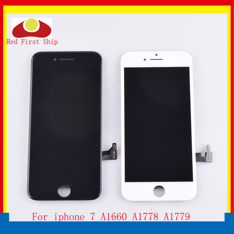 10Pcs lot For iphone 7 LCD Screen Pantalla monitor For iphone 7G 7 Display Touch Screen Digitizer LCD Complete Original Quality in Mobile Phone LCD Screens from Cellphones Telecommunications