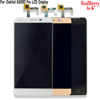 Redberry For Oukitel K6000 Pro LCD Display 5 5 Inch Mobile Phone Touch Screen Digitizer Assembly