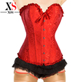 2014 new womens waist trainer corsets to reduce weight shapewear sexy corsets and bustiers goticos steampunk corset brown
