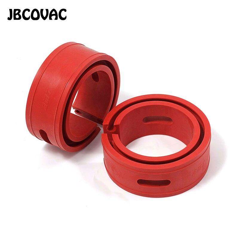 2 adet kırmızı renk araba Styling otomobil amortisörü bahar tampon güç tamponlar A/A/B/B artı /C/D/E/tipi yaylar tamponlar yastık