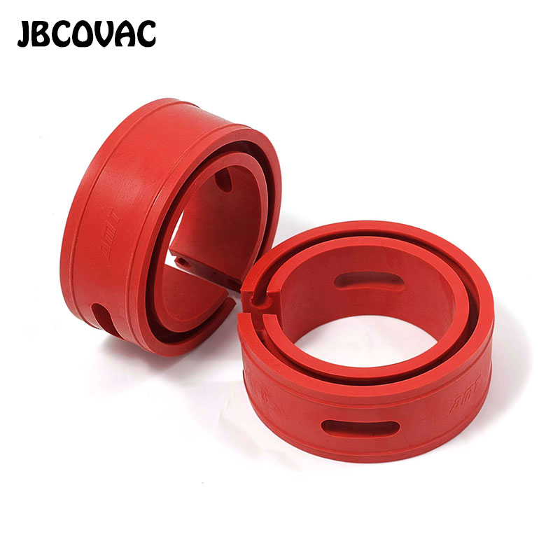 2 pièces couleur rouge voiture style Auto amortisseur ressort pare-chocs puissance tampons A/A Plus/B/B Plus/C/D/E/Type ressorts pare-chocs coussin