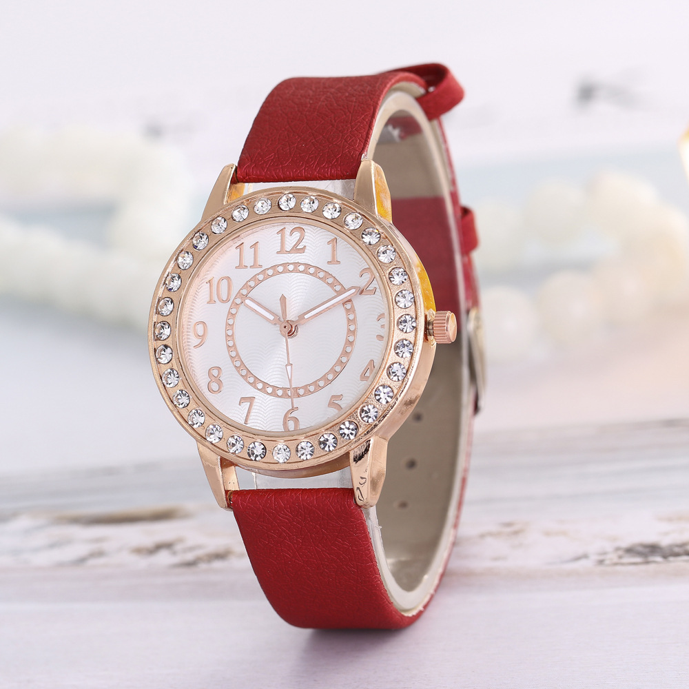 2018 Hot Fashion Ladies Quartz Watch Brand Dress Women's Leather Strap Women Watches Fashion Wrist Watches