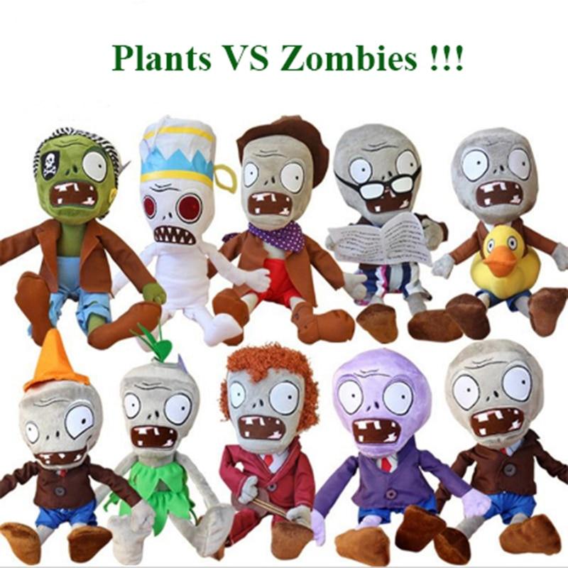 30cm Plants vs Zombies Plush Toys Kawaii Plush Plants vs Zombie Stuffed Toys Doll Children Kids Toys Birthday Christmas Gift 20pcs kawaii plants vs zombies stuffed plush toys games pvz soft doll toy