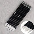 5 Шт./компл. Nail Art Carving Pen Установить Различные Формы Мягкие Силиконовые Гравировка Pen Маникюр Инструмент