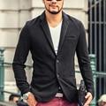 LA MEZCLA de LA marca HOMBRE Moda Chaqueta de Los Hombres Se Adapte A Los Hombres de Primavera y Otoño Prendas de Vestir Exteriores de Negocios Trajes Banquete de Boda