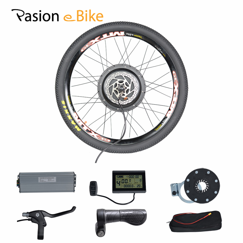 PASION E BIKE 48V1000W Electric Bicycle Conversion kit Bikes Rear wheel motor for 20 24 26 28 29 700C Wheel Motor pasion e bike 48v 500w electric fat bikes bicycle gear hub motor conversion kit bafang 190mm 26 rear wheel 80mm rims