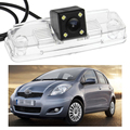 1 Шт. CCD Резервное Копирование Обратный парковка камеры Водонепроницаемый LED Для Toyota Yaris Vios 2007-2011