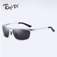 8a09bbe35774d2 RLEI DI Plein Cadre des lunettes de lunettes de Soleil Polarisées Hommes  lunettes de Soleil En Aluminium De Magnésium De Mode Sp..