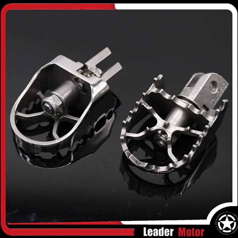 Fit For SUZUKI DL 1000 02-19 DL 650 04-19 V-STROM 650 V-STROM 650XT V-STROM 1000 1000XT 16-19 Rotating Footpegs Foot Pegs