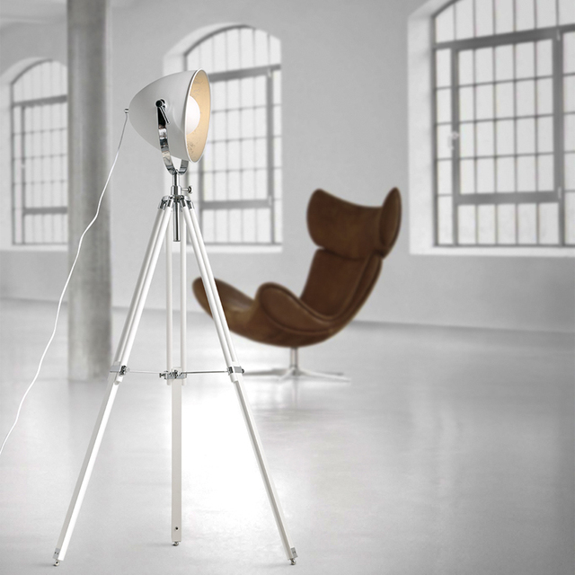 Floor Lamps Loft Illumination Floor Lights Nordic Industrial Retro Floor  Minimalist Creative Studio Three Tripod Lamp