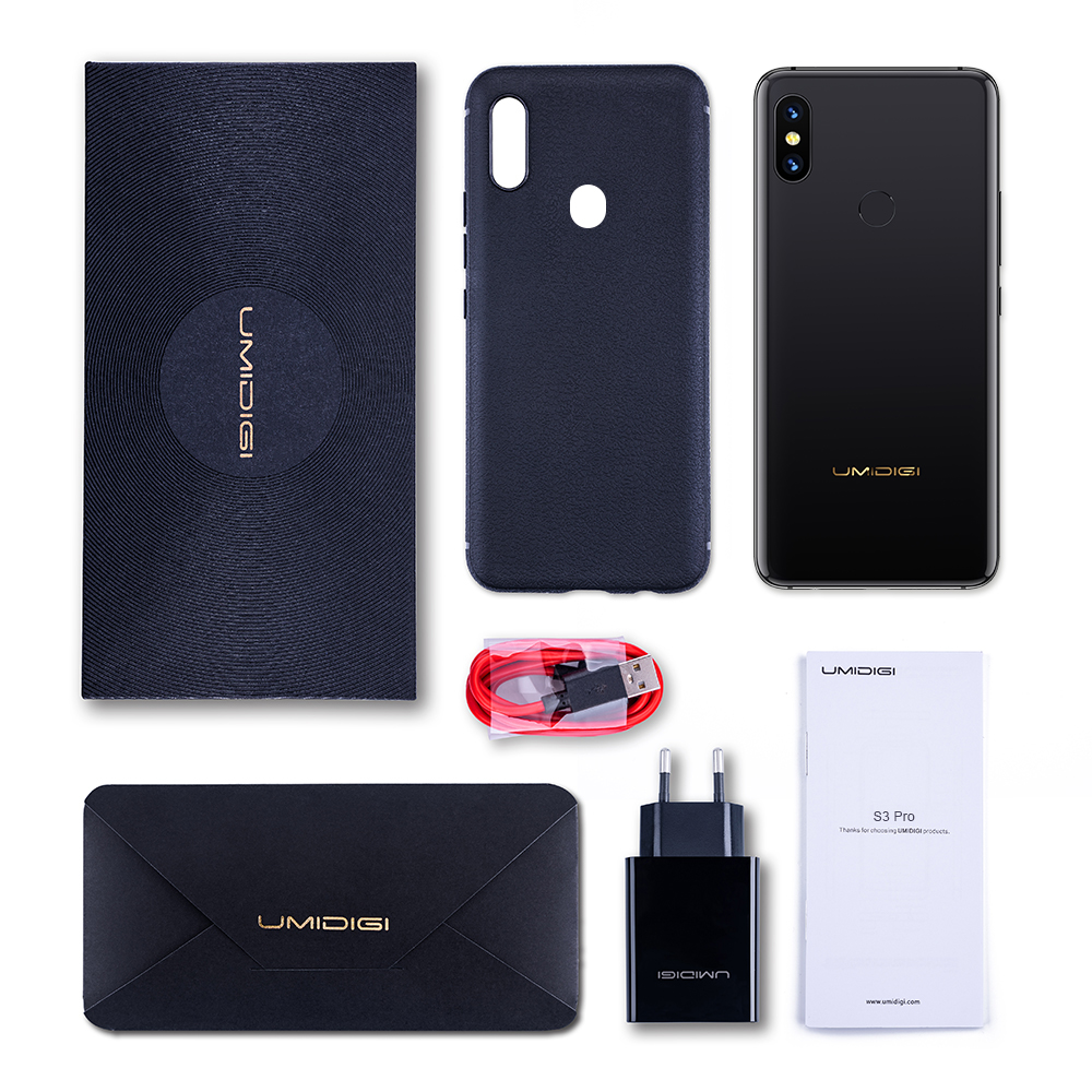 "Image 5 - Global 4G UMIDIGI S3 Pro Android 9.0 Mobile Phone 48MP+12MP+20MP 5150mAh Super Power 128GB 6GB 6.3"" FHD+ NFC Dual SIM Smartphone-in Cellphones from Cellphones & Telecommunications"