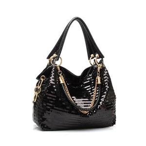 Image 3 - Femmes messenger sac mode Glisten sac à bandoulière en cuir synthétique polyuréthane bandoulière sac fourre tout Cool sac en cuir femmes sac à main cool cadeau à fille