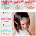 1 X Sweet Newborn Infant Toddler Baby Girls Crystal Pearl Crown Headband Hairband Headwear Hair Band Accessories Hot