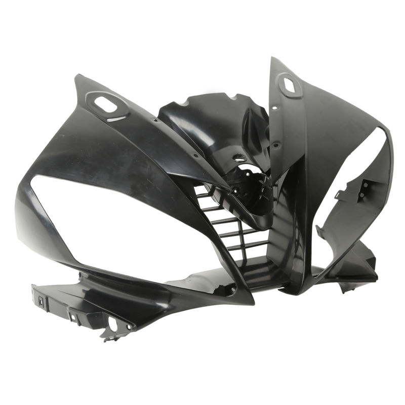 Upper Front Fairing Cowl Nose For YAMAHA YZF R6 YZF-R6 06 07 Unpainted Black White 5pcs lot hd 3 0megapixel m12 8mm hd cctv camera lens ir hd security camera lens fixed iris