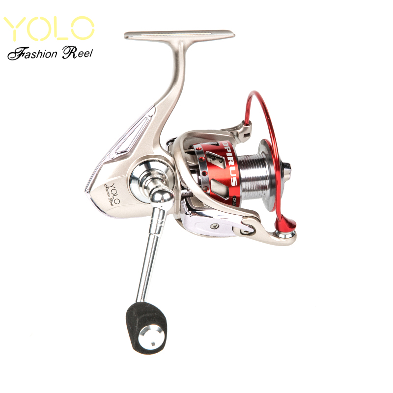 YOLO Spinning Fishing Reel 3000/4000/6000 Molinete Para Pesca Metal Handle Knob Fly Fishing Reels Saltwater Steering-wheel Peche цены