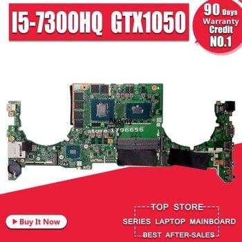 laptop Motherboard For ASUS DABKLGMB8D0 Laptop motherboard FX504G for ASUS Gaming original mainboard I5-8300H GTX1050 exchange!!