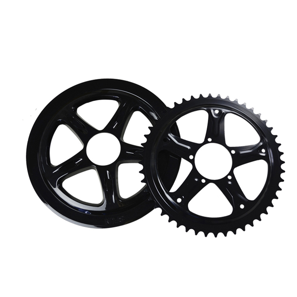 Bafang Ebike Electric Bicycle Motor Chain Wheel 44T/46T/48T/52T Mid Drive Motor Electric Bicycle Accessories