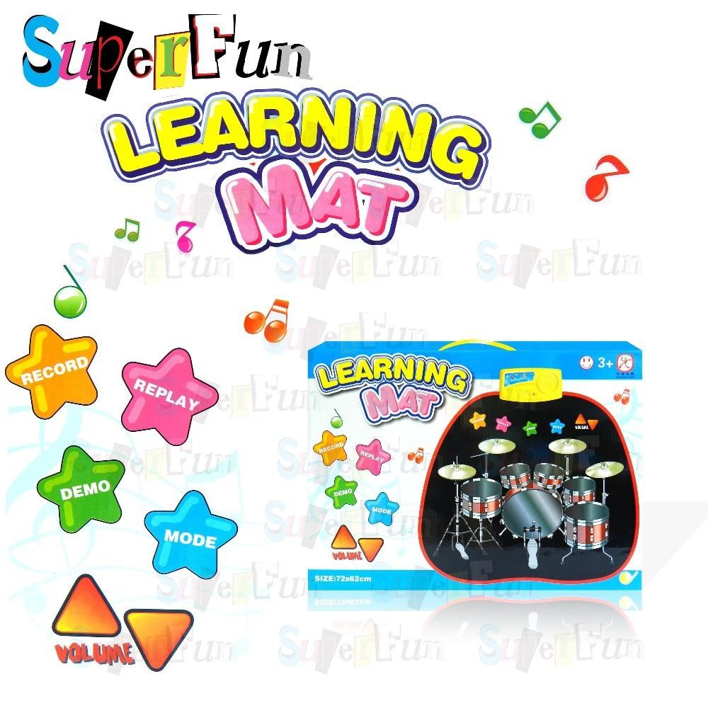 Music Mat Baby Educational Crawl Pad ,Play+Learning+Safety Mats,Kids Climb 72x62cm Game Carpet .