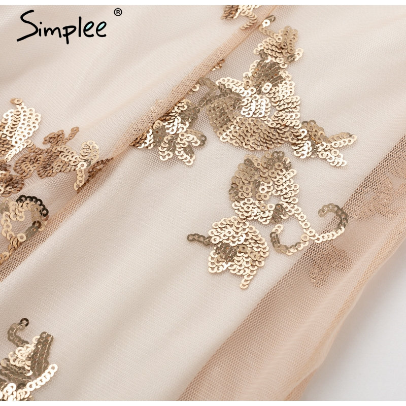 Simplee long party dress 10