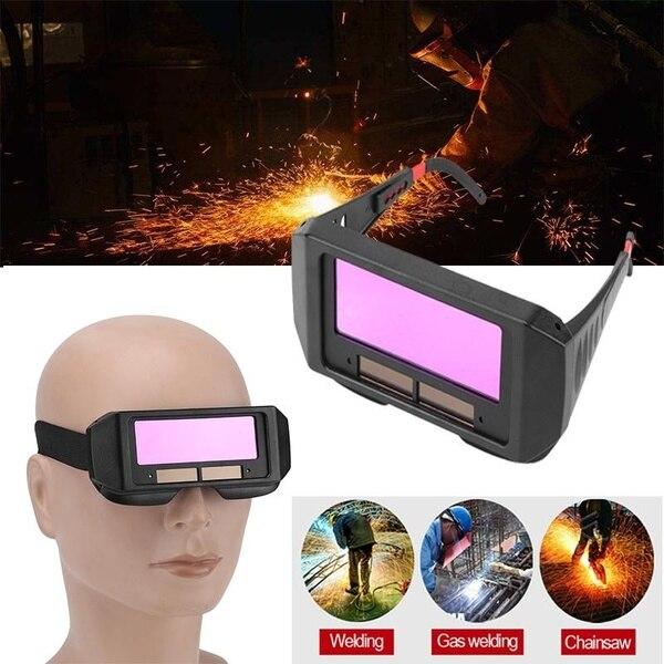 Solar Auto Darkening Welding Helmet Lens Welder Goggles Eye Mask Cap Filter Lens