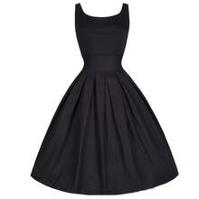 9b3ed153ee8 MSAISS Brand Women Dress Black Red Summer Audrey Hepburn 50s 60s Vintage  Dresses Vestidos Plus Size. 4 Colors Available